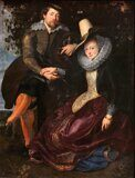 Peter Paul Rubens  Rubens and Isabella Brandt, the Honeysuckle Bower