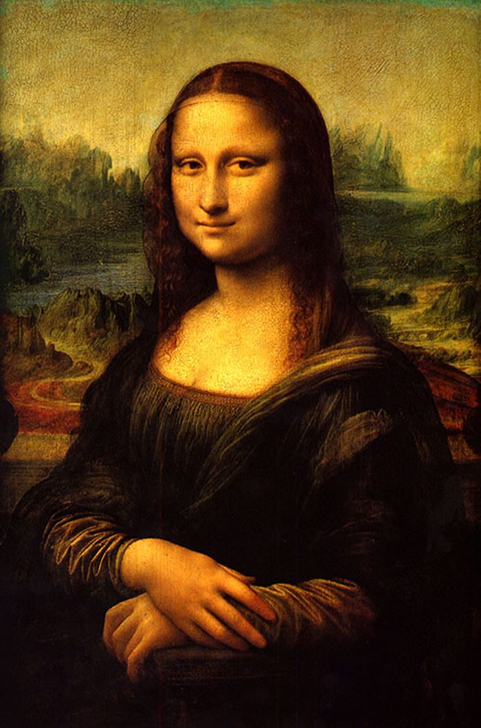 "Portrait the image of the mother ""Mona Lisa"" Artist Leonardo da Vinci"