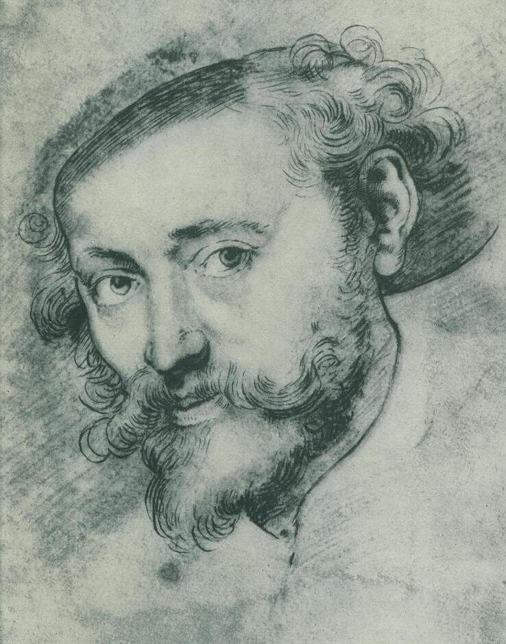 "Peter Paul Rubens ​​​​​""Self portrait"""