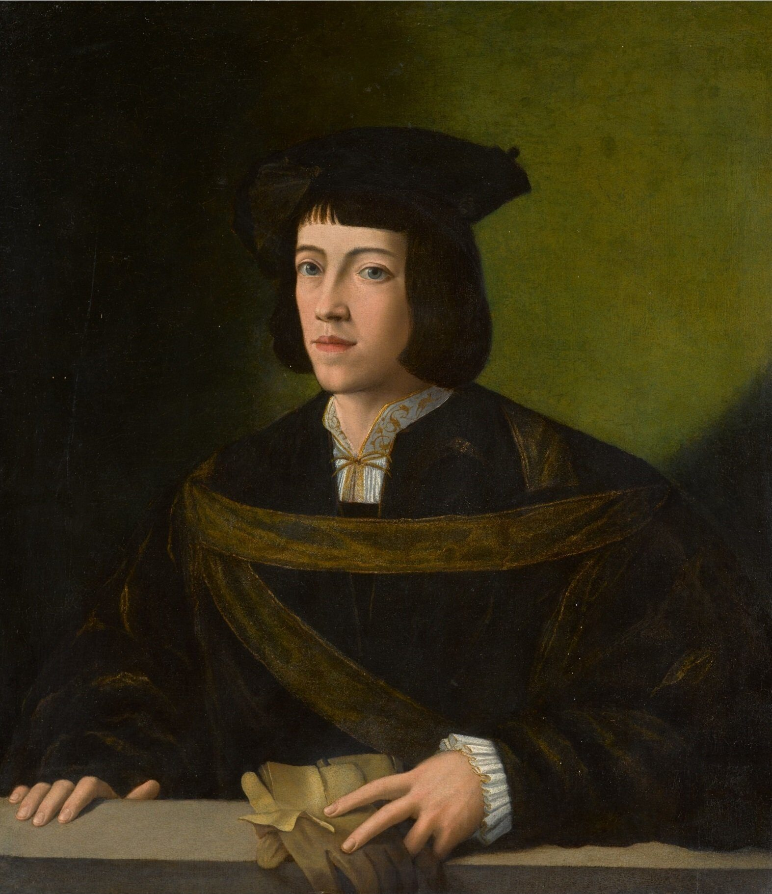 Francesco Melzi Self Portrait